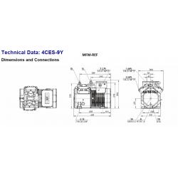4CES-9Y Bitzer 4CC-9.2Y