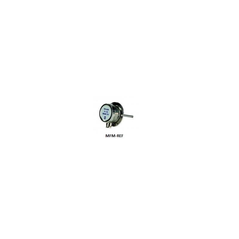 SM 830 mergulho sensor VDH 1/2 aço inoxidável BSP -50/+50/100 mm