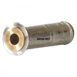 03/S doorlaat Danfoss flare x soldeer met verwisselbaar filter T2/TE2. 068-2093