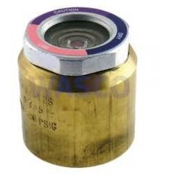 """AMI-2 S17 Alco kijkglas 2.1/8"""" - 54mm ODM  1 x uitwendig soldeer. met vochtindicator"""