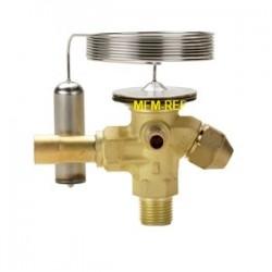 TE 2 Danfoss R404A-R507 3/8x1/2 thermostatic expansion valve, flare – solder Danfoss nr.068Z3419