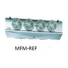 GCE 354F6 ECO Evaporador espaçamento entre as aletas : 6 mm