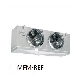 GCE 312F6 ECO Evaporador espaçamento entre as aletas : 6 mm