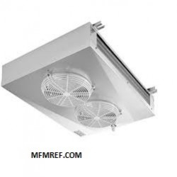 MIC 080 ECO double-throw air cooler Fin spacing: 4,5 / 9 mm