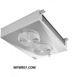 MIC 401 ECO luchtkoeler dubbelzijdig uitblazend Lamelafstand: 4,5 / 9 mm