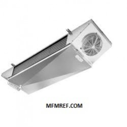 LFE 22EM5 ED ECO double-throw air cooler Fin spacing: 5 mm