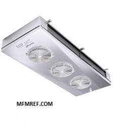 GDE 363A7 ECO refrigerador de ar lados lance Fin: 7 milímetros