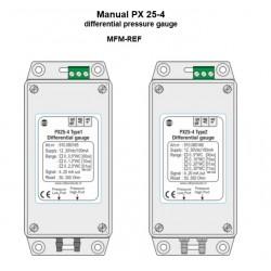 PX 25-4 VDH Type 2  Pressão máx. sensor