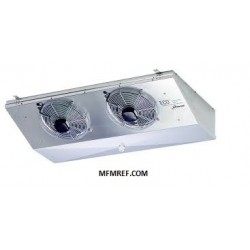 CGD 24EL7 CO2 ECO air cooler for low installation height Fin spacing: 7 mm