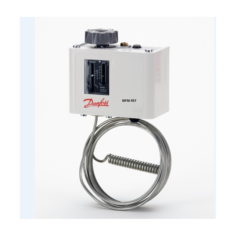 KP61 Danfoss termostato -30°C / +13°C. 060L110266
