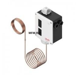 RT102 Danfoss differenziale del termostato riempimento assorbimento +25°C /+90°C. 017-514766