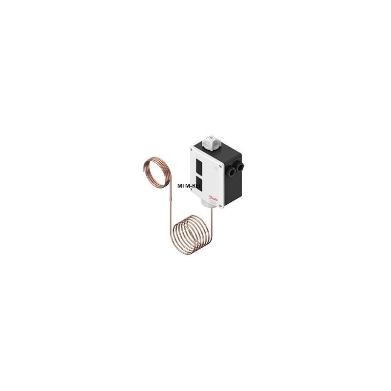 RT102 Danfoss Differenzthermostat Absorptionsfüllung  +25°C /+90°C. 017-514766