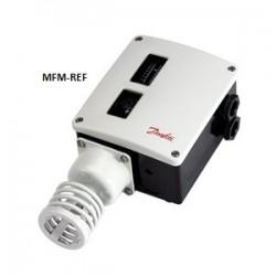 RT16L Danfoss termostato diferencial com zona neutra ajustável -5°C/+30°C. 017L002466