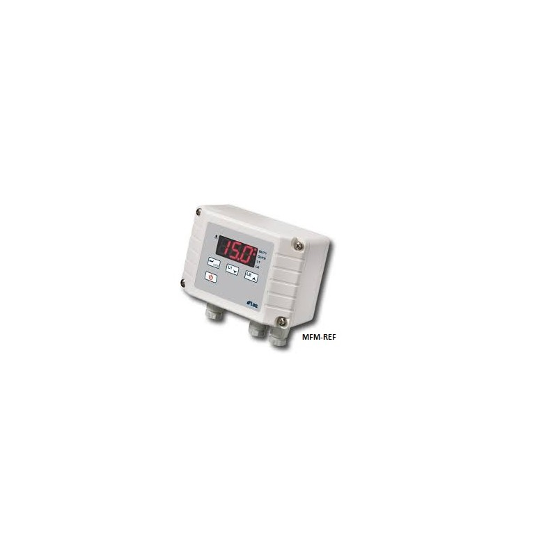 LAE AC1-2WTQ2REB termostato de 2 canais universal on / off ou PID