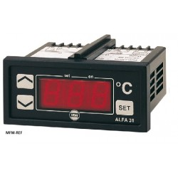 ALFA 31 DP VDH electronic thermostat 230V  -10°/ +90°C