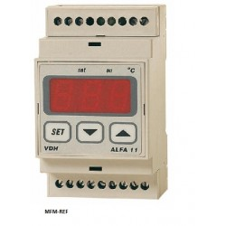 ALFA 11 VDH termostati elettronico 230V  -50 / +50°C