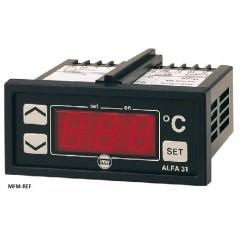 ALFANET 73 VDH elétrico termostato alarme tónico 12V  -50°C/ +50°C