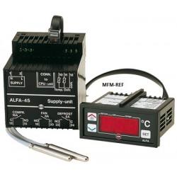 ALFANET 95DR VDH defrost termostato 230V com módulo relé