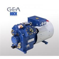 HAX4/465-4 Bock compressor luchtgekoeld met verzwaarde motor vries toepassing