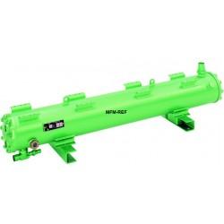 K283HB Bitzer échangeur de condenseur/chaleur refroidi à l'eau chaude gaz/eau de mer résistante