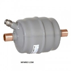 C-083-S-T-HH Sporlan 3/8 ODF suction line filter & burned out dryer Closed models with pressure gauge connection