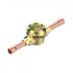 """SGP 19s N Danfoss kijkglas 3/4"""" soldeer aansluiting met vochtindicator"""