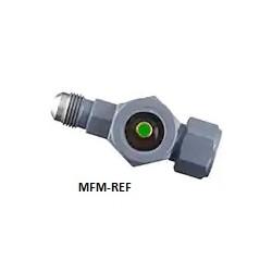 """SA-14FM Sporlan visor com indicador de umidade 1/2 int. alargamento x 1/2 """"alargamento ext."""