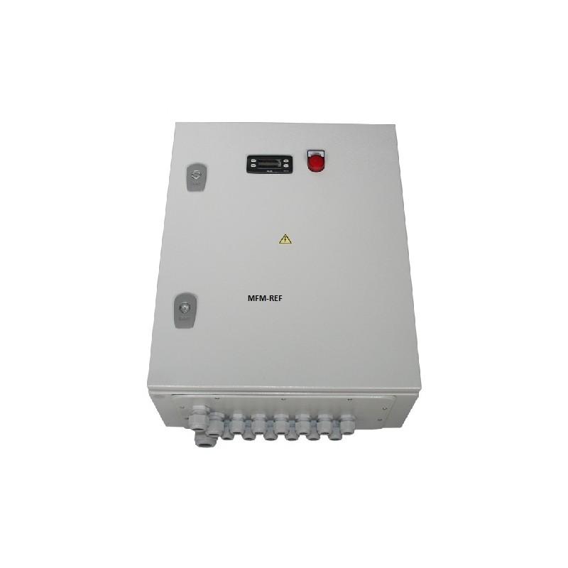 V3-3ph/400-18 ECR caixa de controle para sala de congelamento (incl. Eliwell ID 974)