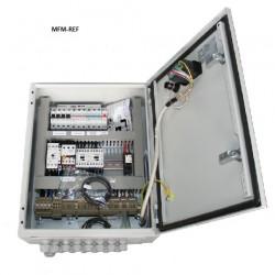 KV3-3ph/400-24 ECR schakelkast voor koel/vries (incl. Eliwell ID 974)