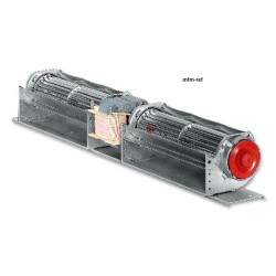 EBM QLZ 06/1818-3030 dwarsstroom ventilator dubbelwals