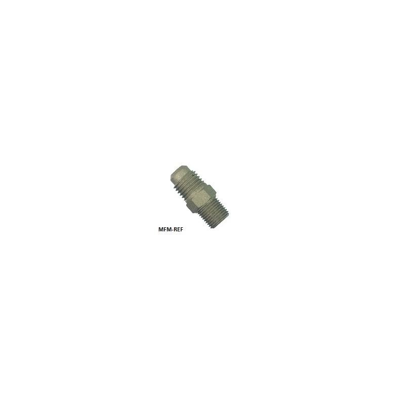 A-31424 Refco schraderventiel 1/4'SAE uitw x 1/4'SAE