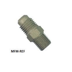 Refco A-31720M Schräder valves Schräder x soudure pour tuyau  6, 8, 10 mm Ø