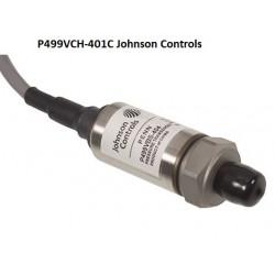 P499VCH-401C  Johnson Controls drukopnemer -1 tot 8 bar  0-10 Vdc vrouwelijk