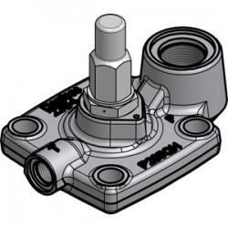 ICS3 65 Danfoss 3-soupape de commande, la partie supérieure du régulateur de pression servo-commandé. 027H6173