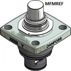 ICM 20-C Danfoss Les modules de fonction avec le couvercle supérieur pour les vannes de commande de pression à moteur. 027H1182