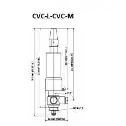 CVC-L Danfoss Régulateur de pression du carter -0.45 + 7 bar. 027B0940
