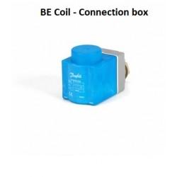 bobina 10W Danfoss per elettrovalvola EVR con scatola di giunzione IP67 018F6702