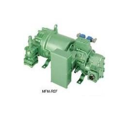 HSN8581-125 Bitzer semi de compressor de parafuso hermético para R404A. R507. R449A