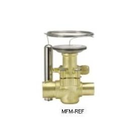 """TES20 Danfoss R404A-R507 1/4"""" flare la vanne d'expansion thermostatique .067B3353"""