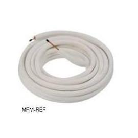 """1/4"""" Aircotube Isolation des tuyaux de réfrigérant en cuivre, par bobine 30 m"""
