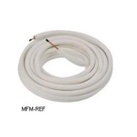 "7/8"" Aircotube Insulated copper refrigerant pipes ,per spool 20 m"