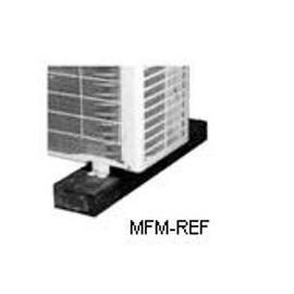 100 x 100 x 10 mm per aria condizionata installazione di piastrelle in gomma