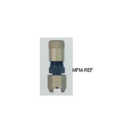 A-31912 Refco válvula Schrader para 3/4 tubos externamente, solda