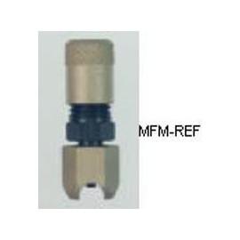 "A-31906 Refco valvole Schrader tubo esterno, saldatura 3/8"""