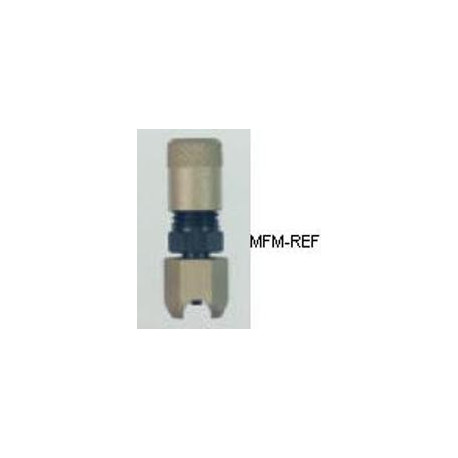 A-31906 Refco  válvula Schrader para 3/8  tubo externo, solda