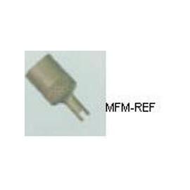 """NFT-118 Refco  tappo di chiusura con chiave per valvole 1/4"""" SAE"""