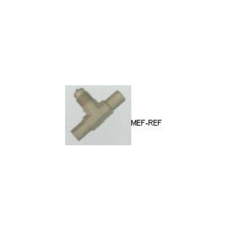 A-31138 T-stuk schraderventiel messing 1/2 x 5/8