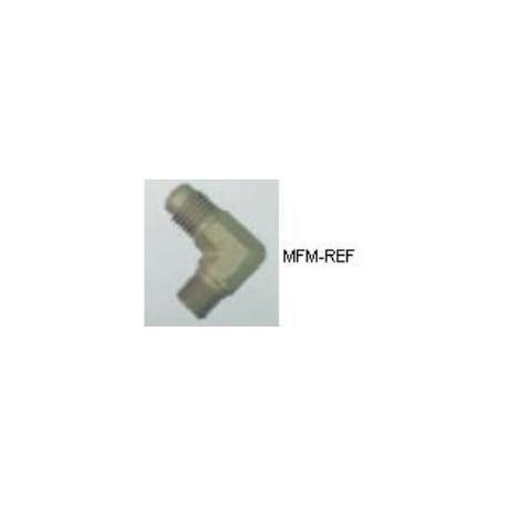 """A-31492 válvula Schrader 1/8"""" NPT x 1/4"""" SAE ângulo"""