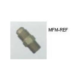 "A-31484 Refco 1/4 ""NPT x 1/4"" SAE válvula Schrader"