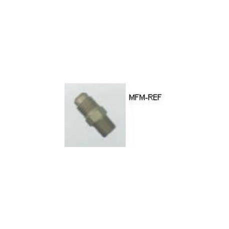 """A-31482 schräderventiel  1/8""""NPT x 1/4""""SAE- Inclusief ventiel en kapje."""